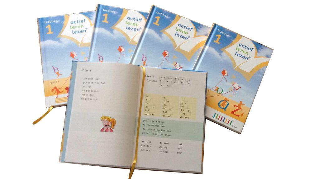 actief leren lezen lesboek technisch lezen