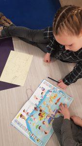 Zwemmen - woordenschatles van actief leren lezen over het zwemmen